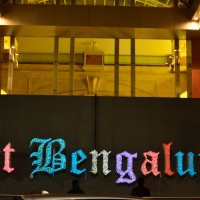 Weaving light for Art Bengaluru 2018