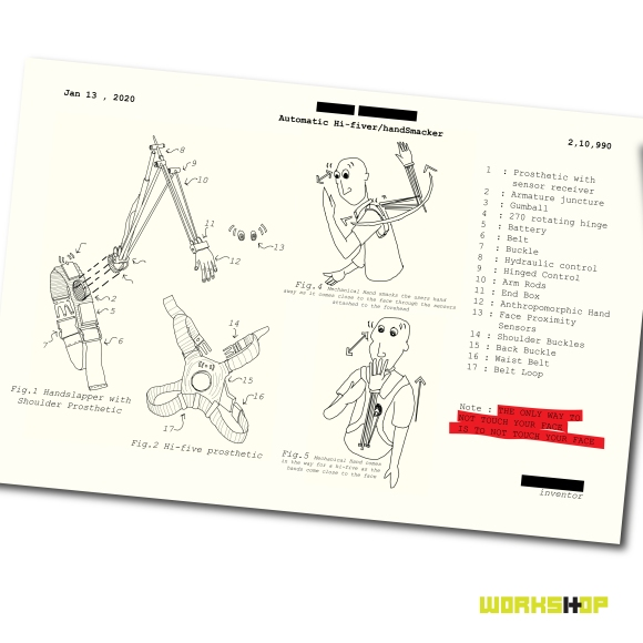 THE-HAND-SMACKER-IMPROBABLE-MACHINE-COVID19